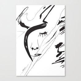 the sin Canvas Print