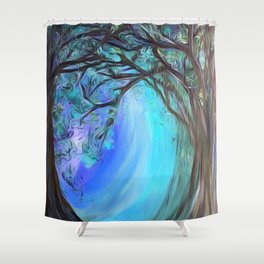 Into the Ice Shower Curtain
