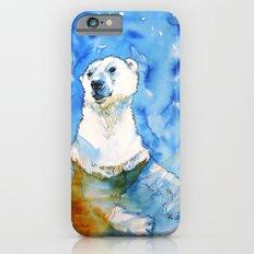 Polar Bear Inside Water iPhone 6s Slim Case