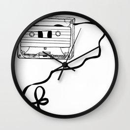 Cassette Tape Wall Clock
