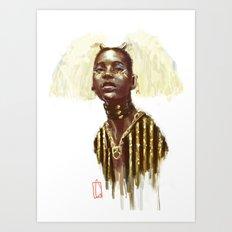 Beauty III Art Print
