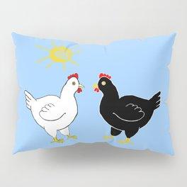 Hens and Sun Pillow Sham
