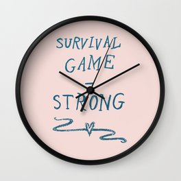 Survival - Strong Wall Clock