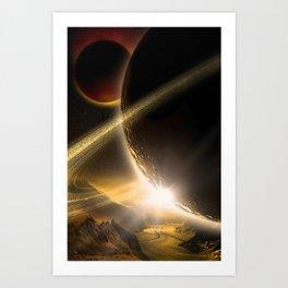 In Space Art Print