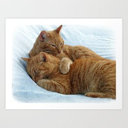 Brotherly Love Art Print