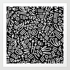 PATTERNGASM2 Art Print