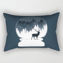 Boule à Neige Rectangular Pillow