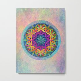 The Flower of Life variation Metal Print