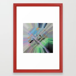 NAUSEA Framed Art Print