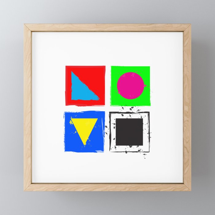 L O V E Framed Mini Art Print