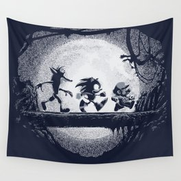 Jumpmen Wall Tapestry