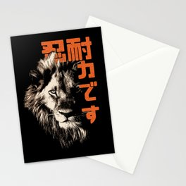 Komainu Lion Spirit Stationery Cards