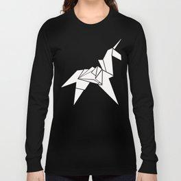 Unicorn Origami Long Sleeve T-shirt