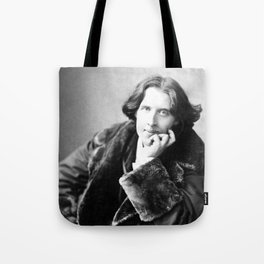 The Picture of Oscar Wilde Tote Bag