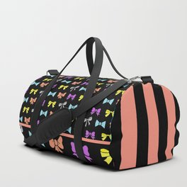 Party Bows /Black Duffle Bag