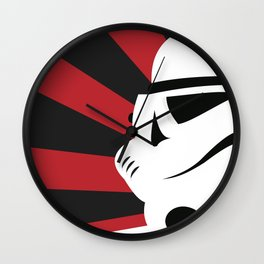 Storm Trooper Portrait Wall Clock