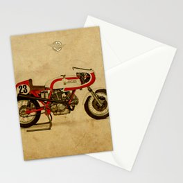 motorcycle 750SS Corsa 1974 Stationery Cards