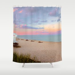 Evening Colors Shower Curtain