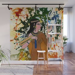 The Egyptian Enchantress by Michael Moffa Wall Mural