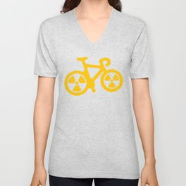 Radioactive Bicycle Unisex V-Neck