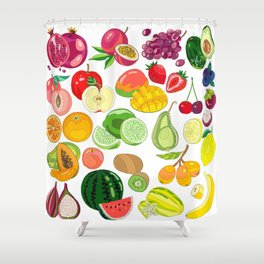 Fruits Paradise Shower Curtain