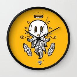 Bearded Skull Wall Clock