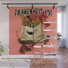 Fahrenheit 451 Wall Mural