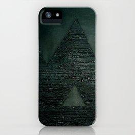 Black square comp. iPhone Case