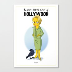 Golden Age: Tippi Canvas Print