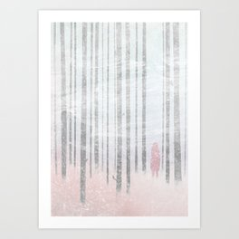 The Company of Wolves Art Print