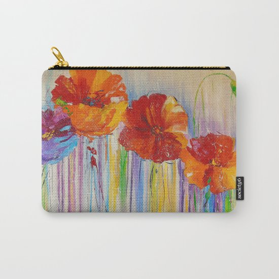 Flower abstraction Carry-All Pouch