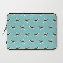 Beagle Design - beagle pillow beagle phone case beagle home decor Laptop Sleeve