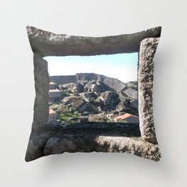 A view from the castle Throw Pillow
