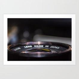 FD 135mm f/3.5 Macro Art Print