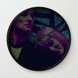 Lost In Translation Screenplay Print Wall Clock