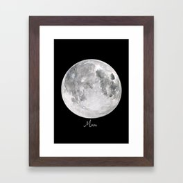 Moon #2 Framed Art Print