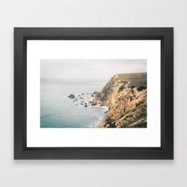 Northern California Coast Framed Art Print