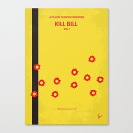 No048 My Kill Bill - part 1 MMP Canvas Print