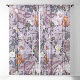 Crocus Petal Sheer Curtain
