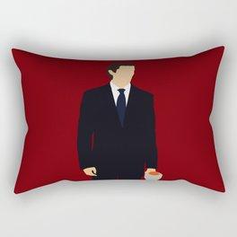Patrick Bateman American Psycho movie Rectangular Pillow