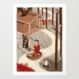Forest Dweller Art Print