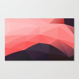 Abstract Triangulated Pattern Canvas Print