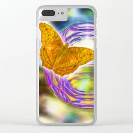 The wind beneath my wings Clear iPhone Case