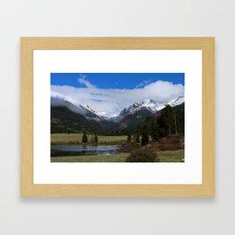 A Beautiful View Framed Art Print