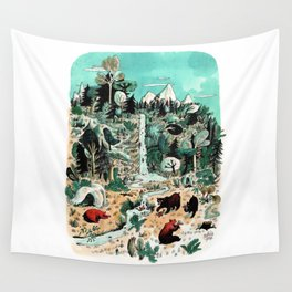 Wild Canada Wall Tapestry