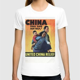 China shall have our help T-shirt