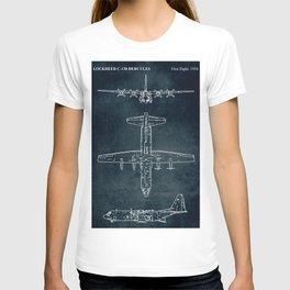 LOCKHEED C-130 HERCULES - First flight 1954 T-shirt