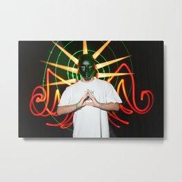 the light mask Metal Print