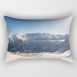 Pirin mountains panorama Rectangular Pillow
