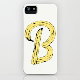 B for Banana iPhone Case